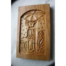 Mézeskalács ütőfa (Esernyős pár)