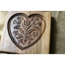 Mézeskalács ütőfa ( Szív 7 )