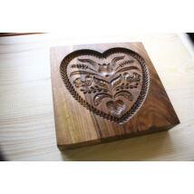 Mézeskalács ütőfa ( Szív 6 ) Zsűrizett termék