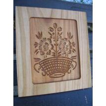 Mézeskalács ütőfa (Virágkosár)