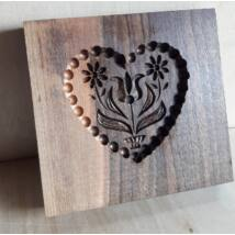 Mézeskalács ütőfa       (Szív 2)
