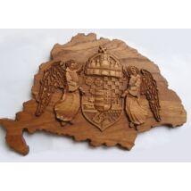 Nagy Magyarország angyalos címerrel
