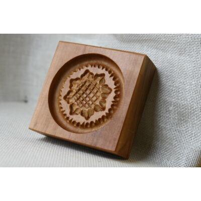 Mézeskalács ütőfa (Kicsi tallér, napraforgó)