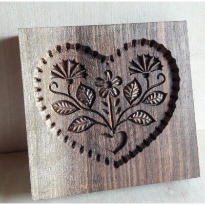 Mézeskalács ütőfa (Szív-1)